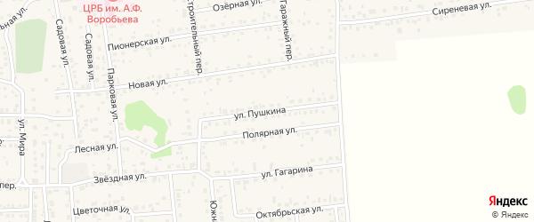 Улица Пушкина на карте Новоалтайска с номерами домов