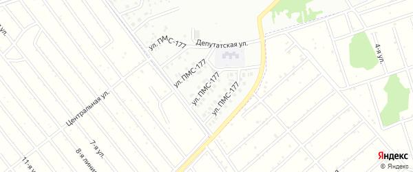 Улица ПМС-177 на карте Новоалтайска с номерами домов