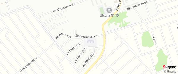 Депутатская улица на карте Новоалтайска с номерами домов