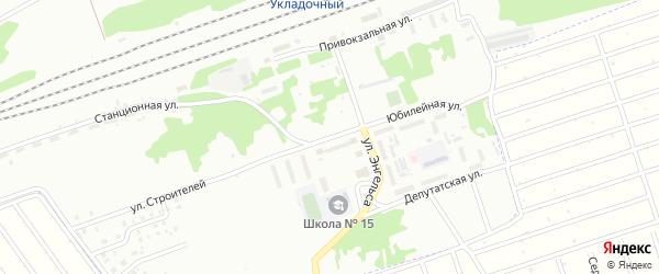 Юбилейная улица на карте Новоалтайска с номерами домов