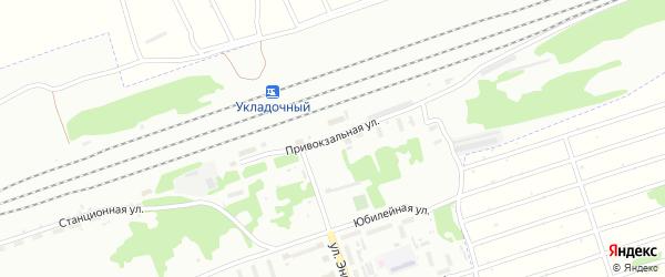 Привокзальная улица на карте Новоалтайска с номерами домов