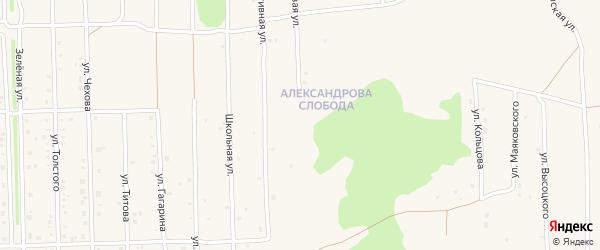 Парковая 2-я улица на карте Нового поселка с номерами домов