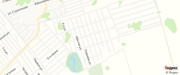 Степное СТ на карте Первомайского района с номерами домов
