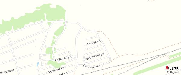 Тенистая улица на карте Заринска с номерами домов