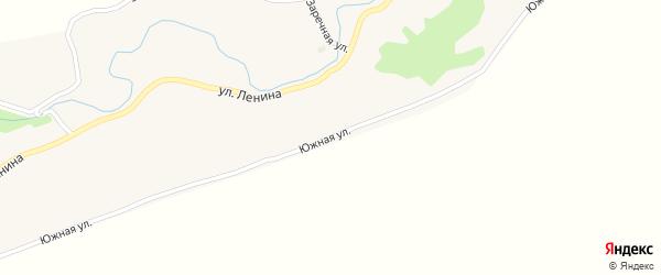 Южная улица на карте села Соловьихи с номерами домов