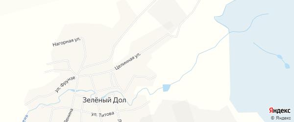 Карта поселка Красного Востока в Алтайском крае с улицами и номерами домов