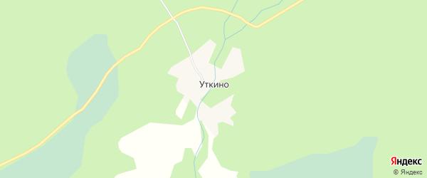 Карта села Уткино в Алтайском крае с улицами и номерами домов