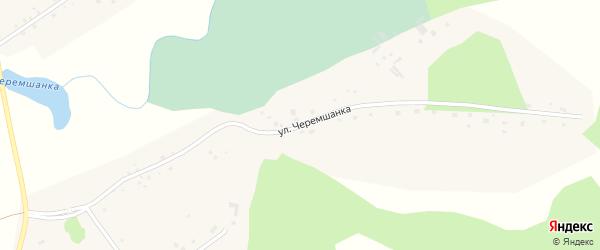 Улица Черемшанка на карте села Сорочьего Лога с номерами домов