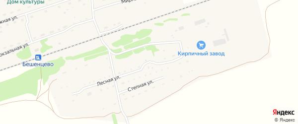 Лесная улица на карте Логовского села с номерами домов