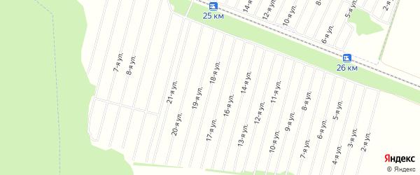СТ Алтайстрой на карте Косихинского района с номерами домов