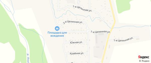 Аэропортовая улица на карте Солонешного села с номерами домов