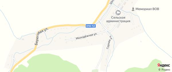 Молодежная улица на карте села Лютаево с номерами домов