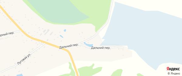 Дальний переулок на карте села Быстрого Истока с номерами домов