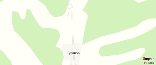 Улица Мараловодов на карте села Курдюма с номерами домов