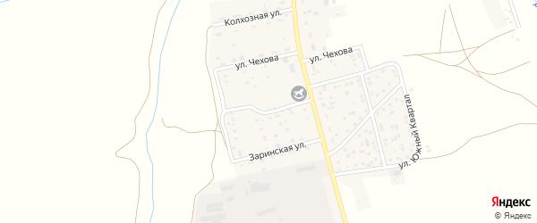 Октябрьская улица на карте села Косихи с номерами домов
