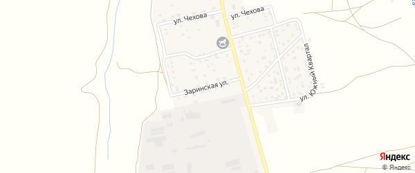 Заринская улица на карте села Косихи с номерами домов