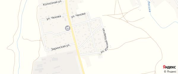 Улица Южный квартал на карте села Косихи с номерами домов