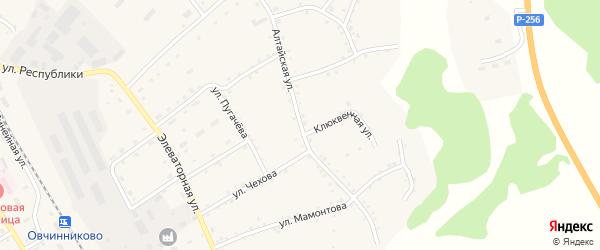 Алтайская улица на карте села Налобиха с номерами домов