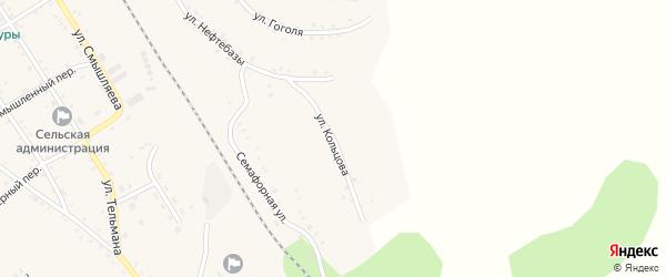 Улица Кольцова на карте села Налобиха с номерами домов