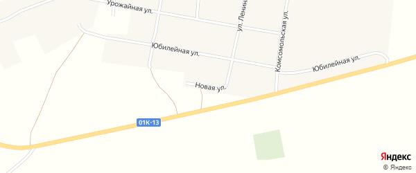 Новая улица на карте Хлеборобного села с номерами домов