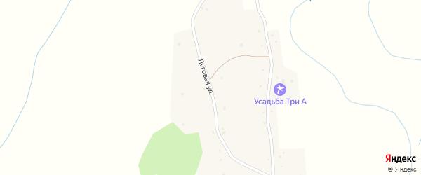 Луговая улица на карте села Солоновка с номерами домов