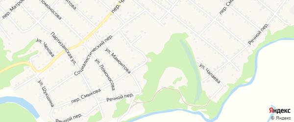 Переулок Смыкова на карте Троицкого села с номерами домов