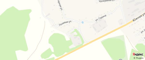 Полевая улица на карте села Залесово с номерами домов