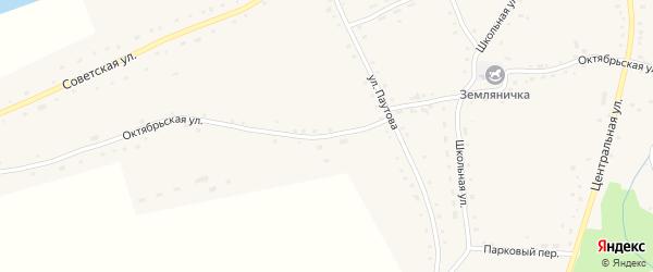 Октябрьская улица на карте села Сычевки с номерами домов