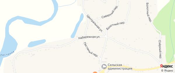 Набережная улица на карте села Сычевки с номерами домов