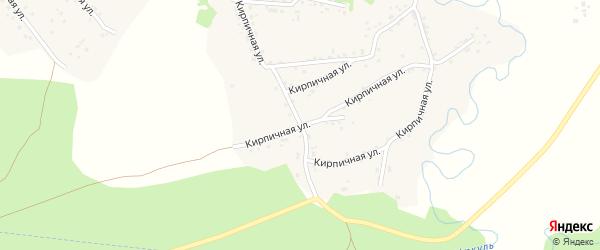 Сосновый переулок на карте села Соколово с номерами домов