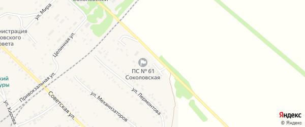 Улица Энергетиков на карте села Соколово с номерами домов