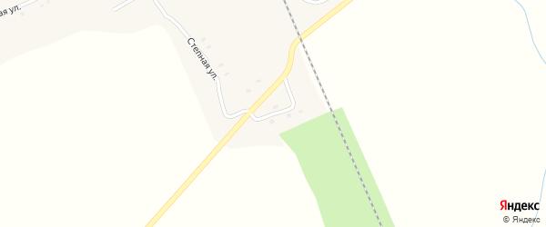 Короткая улица на карте станции Буланихи с номерами домов