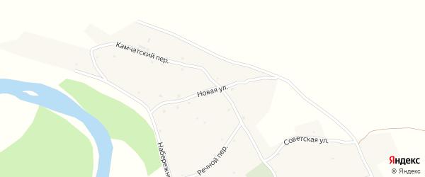 Новая улица на карте Песчаного села с номерами домов
