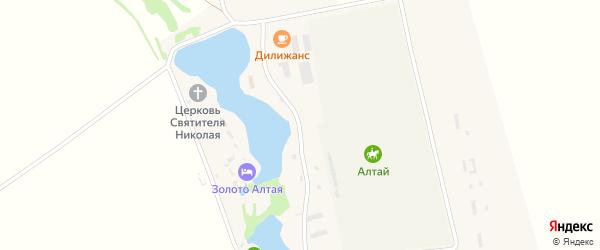 Беговая улица на карте села Новотырышкино с номерами домов