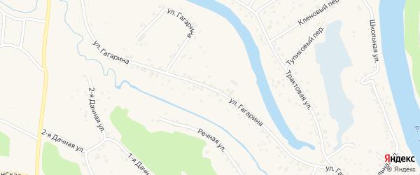 Улица Гагарина на карте Заринска с номерами домов