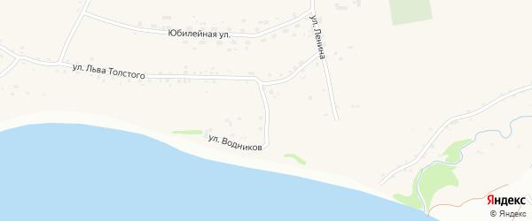 Ежевичная улица на карте Фоминского села с номерами домов
