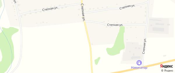 Степная улица на карте села Новотырышкино с номерами домов