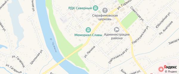 Улица Карла Маркса на карте Заринска с номерами домов
