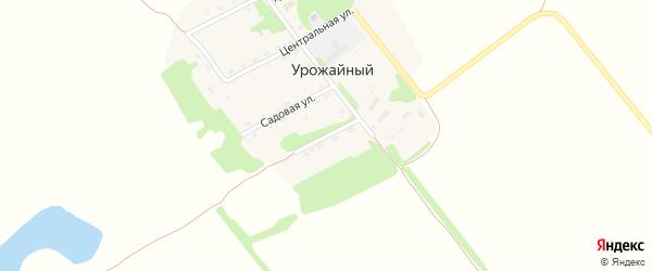 Молодежная улица на карте Урожайного поселка с номерами домов