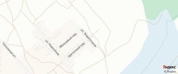 Улица Энергетиков на карте Фоминского села с номерами домов