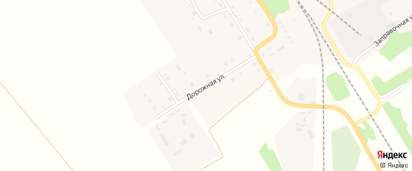 Дорожная улица на карте Зонального села с номерами домов