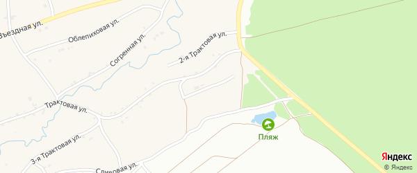 Земляничная улица на карте Фоминского села с номерами домов