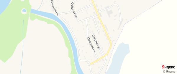 Озерная улица на карте Заринска с номерами домов