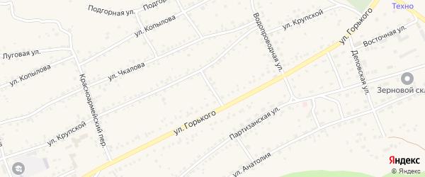 Январский переулок на карте Заринска с номерами домов