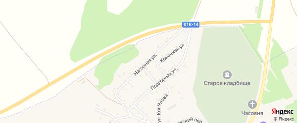 Нагорная улица на карте Заринска с номерами домов