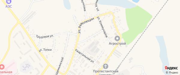 Первомайская улица на карте Заринска с номерами домов