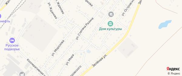 Улица Мира на карте Заринска с номерами домов