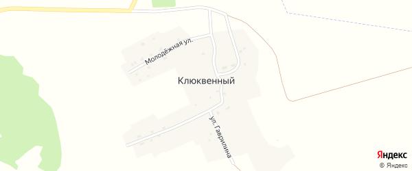 Лесная улица на карте Клюквенного поселка с номерами домов