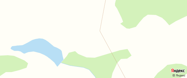 Улица Гаврилина на карте Клюквенного поселка с номерами домов