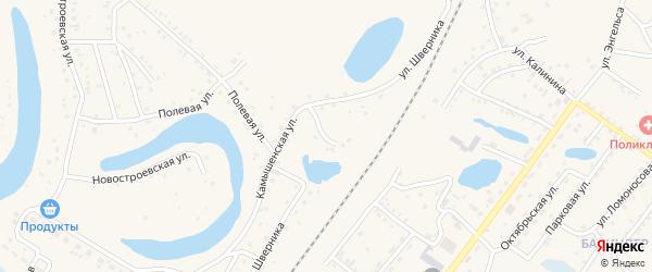 Улица Шверника на карте Заринска с номерами домов